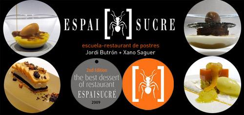 EspaiSucre Concurso Best Restaurant