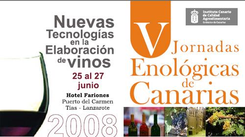 V Jornadas Enologicas Canarias