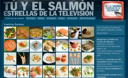 concurso salmón Karlos Arguiñano