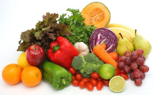 Frutas y verduras prevencion