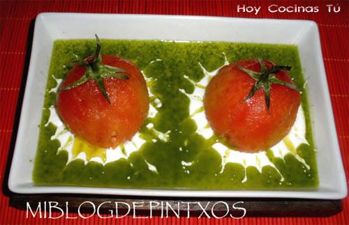 Tomates rellenos de ventresca