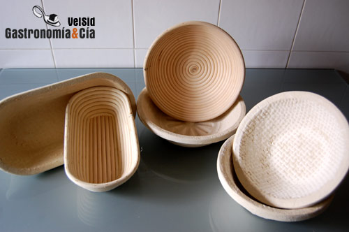 cestas levado de pan