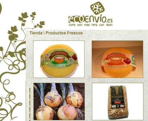 alimentos ecológicos de Galicia