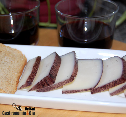 queso murcia vino