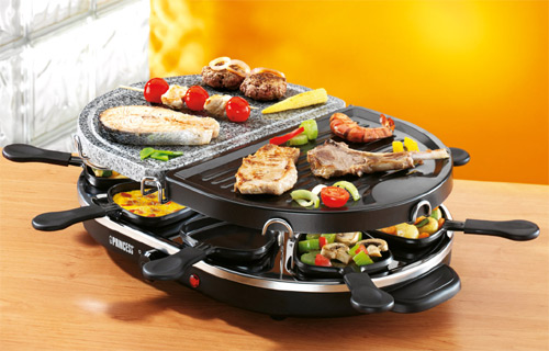raclette electrica