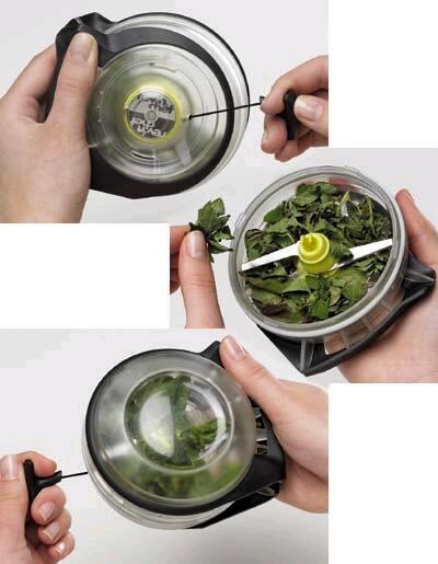 Rev 39 n chef para picar hierbas arom ticas gastronom a c a - Los utensilios del chef ...