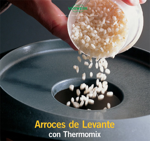 Arroces de Levante con Thermomix