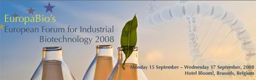 Foro europeo para la biotecnología industrial 2008