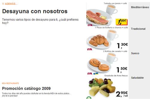 Ikea Food Desayuno