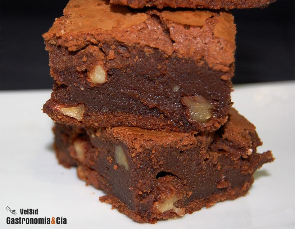 Doce recetas de brownie