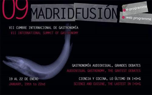 Cumbre gastronómica Madrid Fusiión