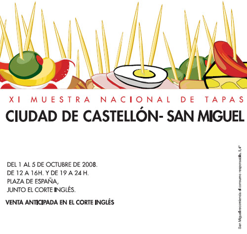 Muestra nacional de tapas ciudad de castell n san miguel for Cursos de cocina en castellon