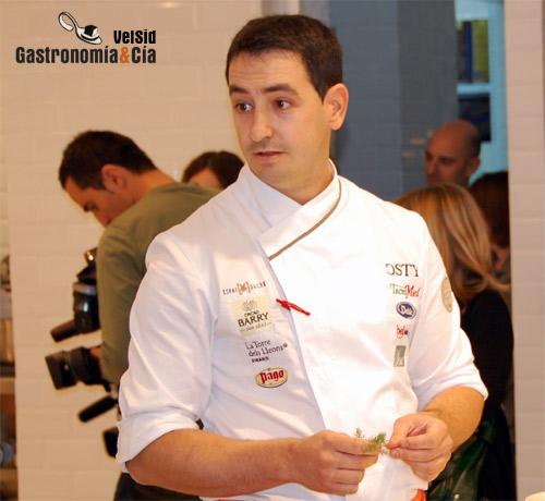 Primer finalista del Concurso Cocinero del Año