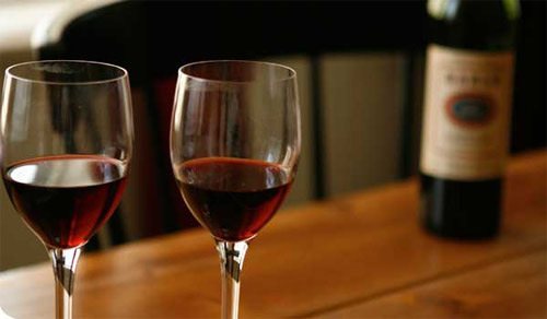 control consumo vino