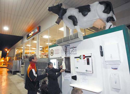 Maquinas expendedoras de leche