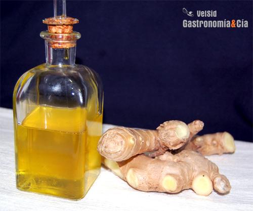 Aceite De Jengibre Gastronomía Cía
