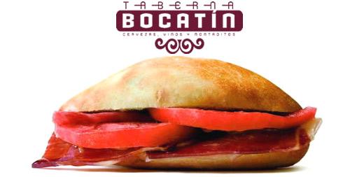 Comer gratis en Taberna Bocatin