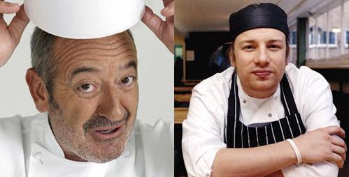 Karlos Arguiñano y Jamie Oliver