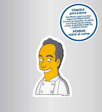 Comida para pensar pensar sobre el comer gastronom a c a for Ferran adria comida