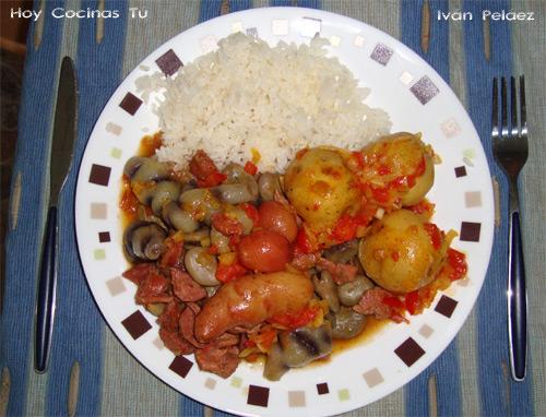 Hoy cocinas t cocido boyacense y salsa criolla - Salsa para bogavante cocido ...