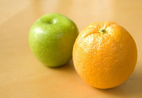 Pectina en frutas
