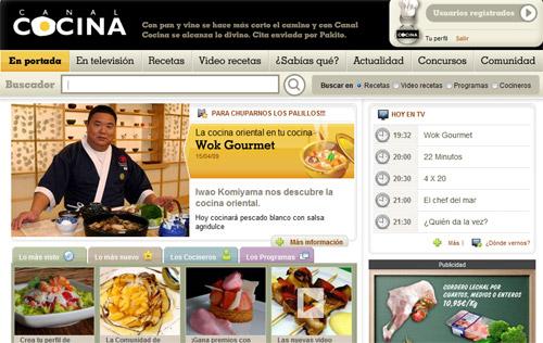 Canal cocina se actualiza gastronom a c a for Canal cocina concursos