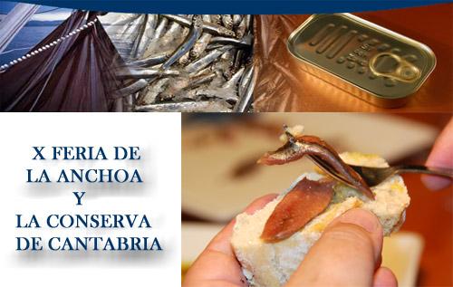 Feria de la anchoa y la conserva de Cantabria