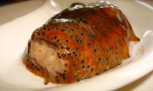 Receta pepino de mar