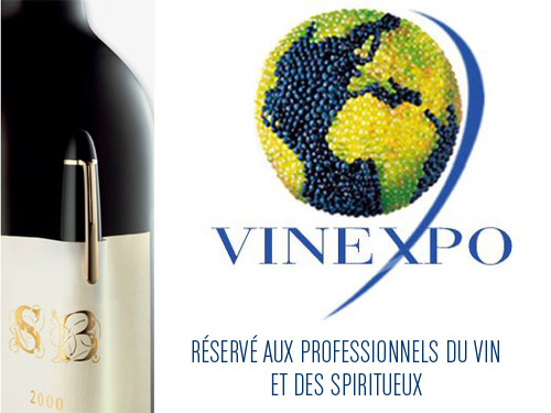 Feria mundial de vinos en Burdeos
