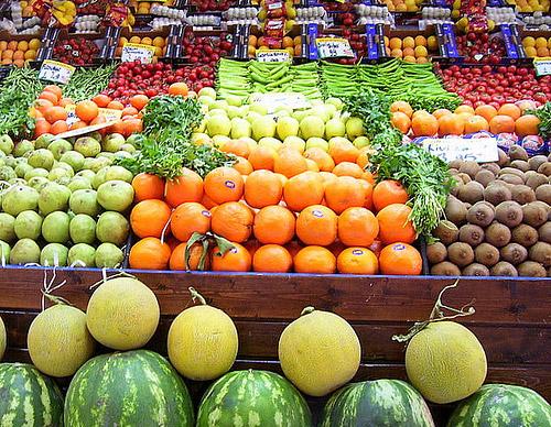 Comprar y conservar frutas y vegetales