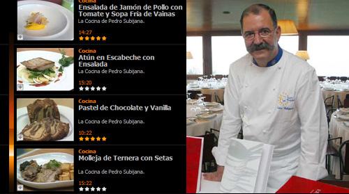 Cocina de Pedro Subijana