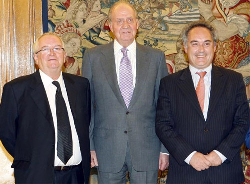 Ferrán Adrià, Juan Mari Arzak y el Rey