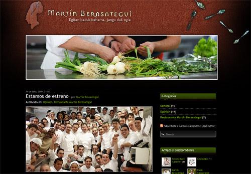 Blog de Martín Berasategui