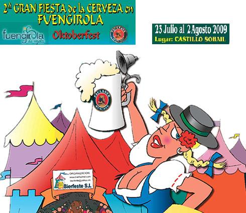 Fiesta de la Cerveza 2009 en Fuengirola