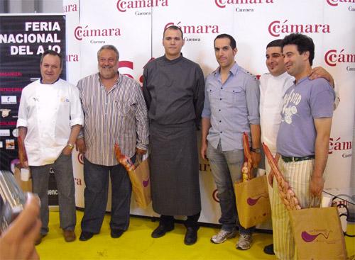 Ganador del I Concurso Nacional de Cocina con Ajo Morado de Las Pedroñeras