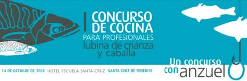 Concurso de Cocina para profesionales, lubina de crianza y caballa