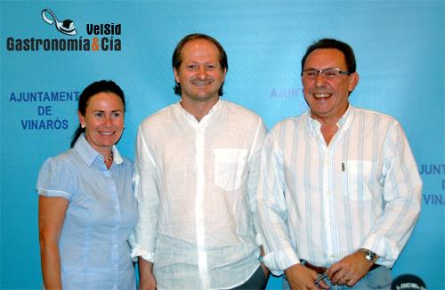 Mamen Obiol, Xosé Cannas y Jordi Romeu