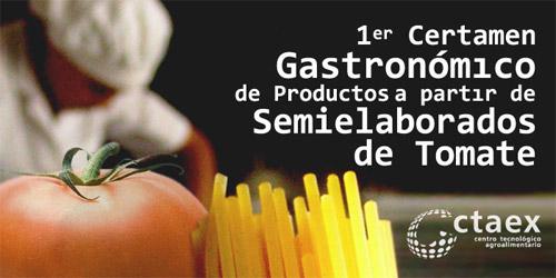 Certamen Gastronómico de Productos a partir de Semielaborados de Tomate