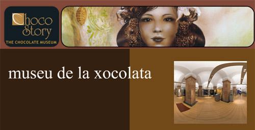 Exposición de chocolates