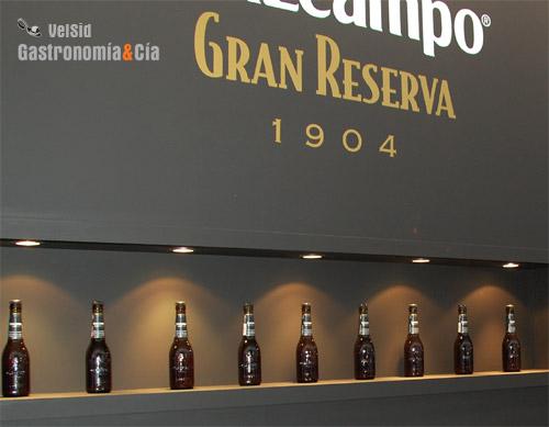 Exposición de Cruzcampo Gran Reserva