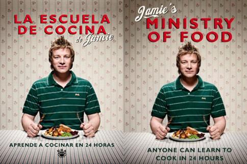 La escuela de cocina de Jamie Oliver