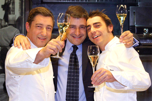 El Celler de can Roca tercera estrella Michelin