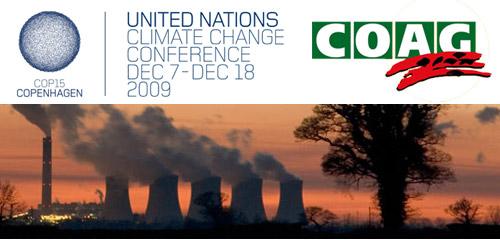 COAG en la Cumbre del Cambio Climático 2009