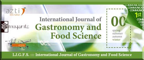 Revista Internacional de Gastronomía y Ciencia de la Alimentación