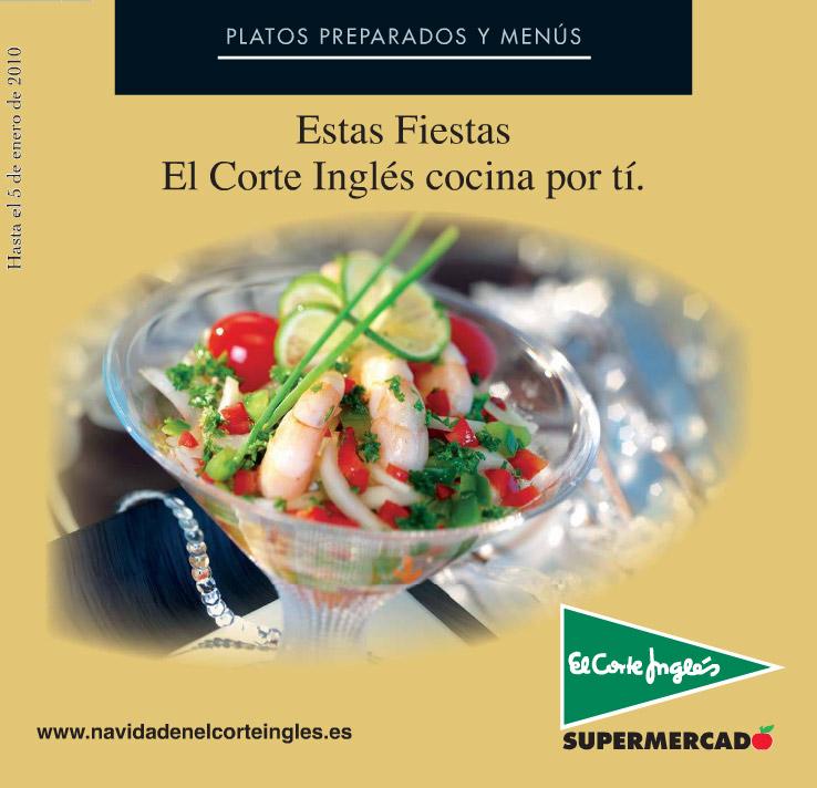 3243c5fb811f Menús para Navidad de El Corte Inglés e Hipercor 2009 | Gastronomía ...