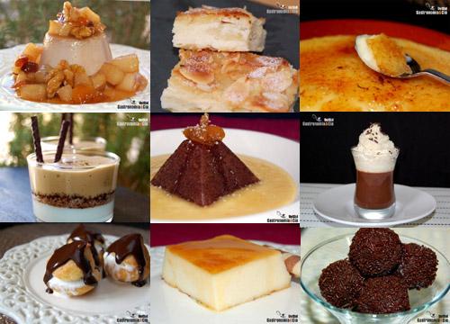 Repostería, pastelería, dulces