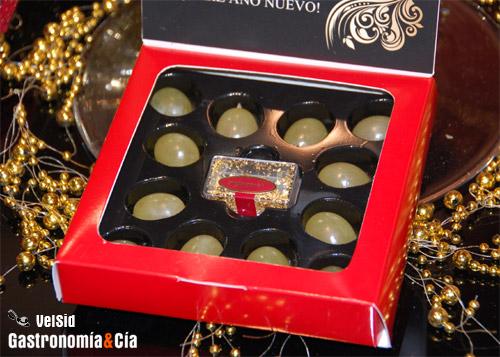 Uvas de Vinalopó con oro