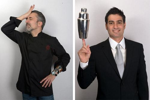 Sergi Arola y Diego Cabrera