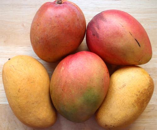Fruta: mangos