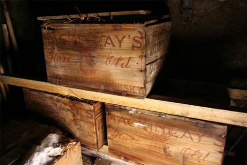 Whisky Mackinlay en el Polo Sur